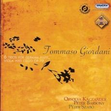 Tommaso Giordani: Triók fuvolára, brácsára és csellóra