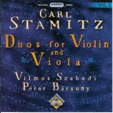 Carl Stamitz: Duók hegedűre és brácsára II.